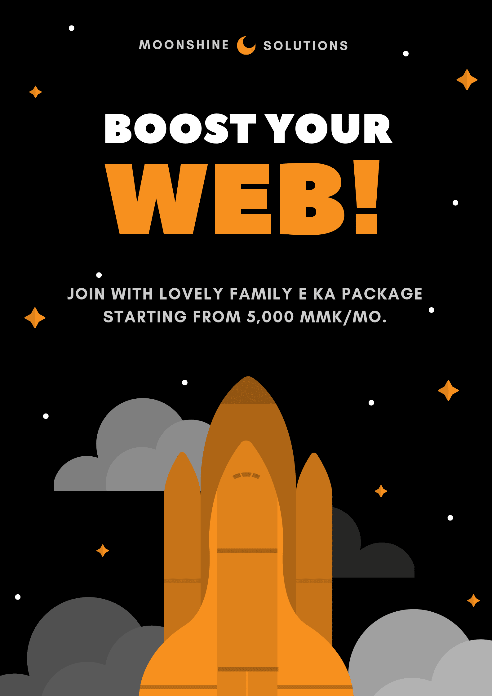 Boost Your website - Lovely Family Host